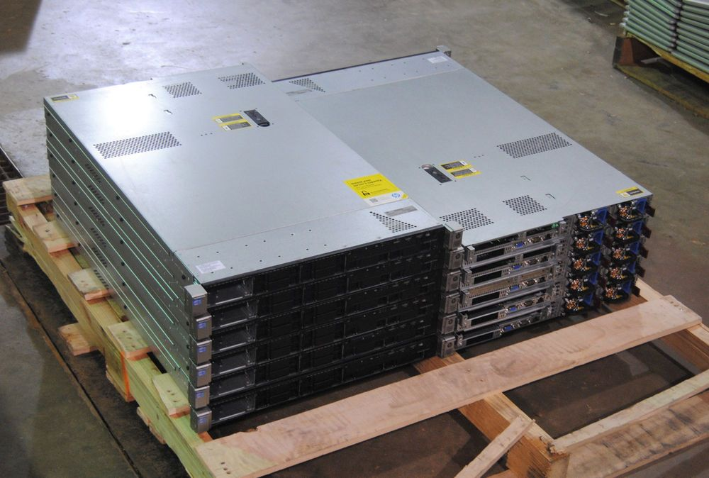 HP DL 360p G8 servers are now in stock.